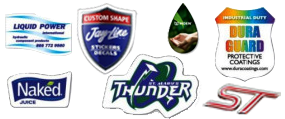 Domed Stickers | Vinyl Stickers | Custom Labels - Domed Stickers